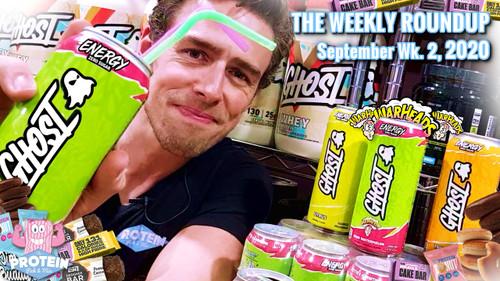 The Weekly Roundup / September Week 2, 2020 - GHOST Energy Drinks, Lo-Dough Cake Bar, Jim Buddy Donuts!