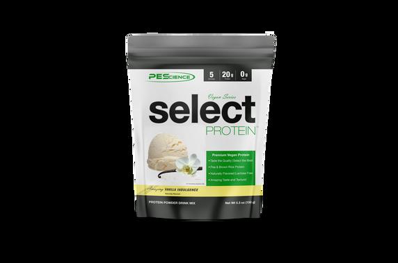 PES Vegan Select Protein 5 Servings (140g) - Amazing Vanilla Indulgence