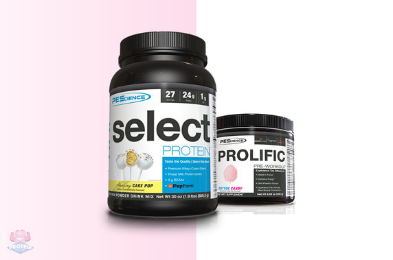 The PES 'Before & After' Bundle at The Protein Pick and Mix