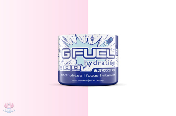 G FUEL Hydration - Blue Rocket Pop at The Protein Pick and Mix