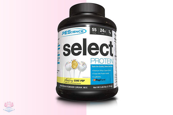 PES Select Protein - Cake Pop - 1730g at The Protein Pick and Mix