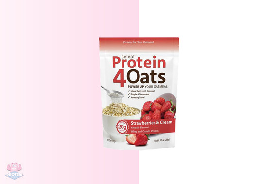 PES Protein4Oats - Strawberries & Cream - 12 Servings at The Protein Pick and Mix