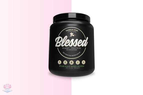 Blessed Plant-Based Protein - Vanilla Chai 500g at The Protein Pick and Mix