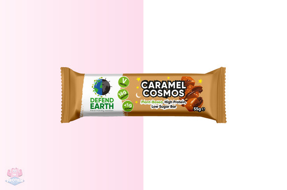 Defend Earth Plant-Based Caramel Cosmos Bar at The Protein Pick and Mix