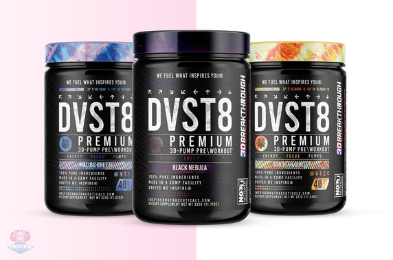 Inspired DVST8 Global™ Pre-Workout at The Protein Pick and Mix