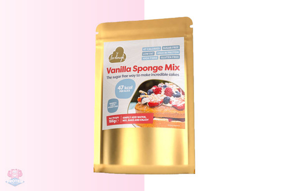 Lo-Dough - Vanilla Sponge Cake Mix at The Protein Pick and Mix