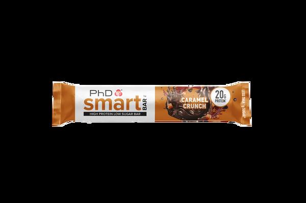 Phd Smart Protein Bar Caramel Crunch 64g Protein Bars Uk
