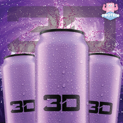 Brand new grape-tastic Purple 3D Energy flavour!