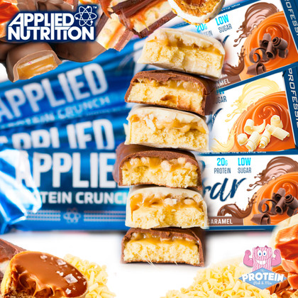 Think you know the CRUNCH?! Applied Nutrition are the latest to take us there with their new Protein Crunch bars!