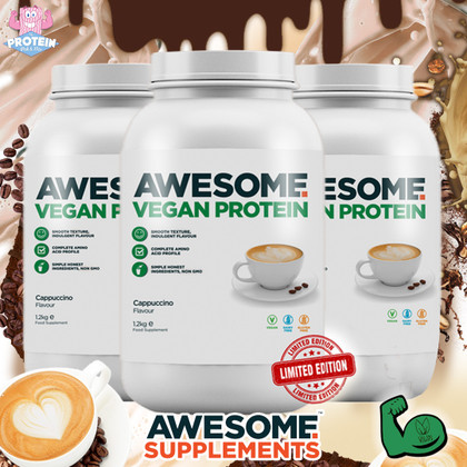 Sultry & Smooth...AWESOME Plant-Powered Cappuccino Protein has landed in the Mix!