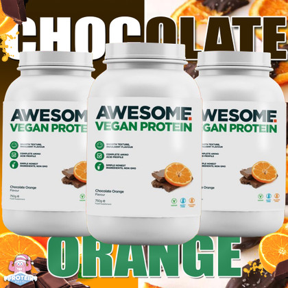 Awesome Supps gets seasonal with their zesty, limited edition Chocolate Orange Vegan Protein
