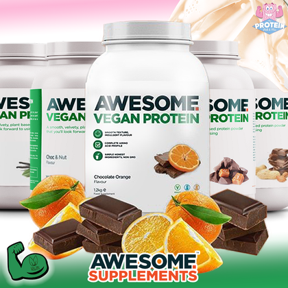 Jaffa just got AWESOME! Awesome Supps Choc Orange Protein Powder is back (and bigger!!)
