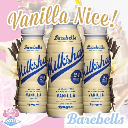 Trust Barebells to do Vanilla RIGHT! Their new Vanilla Milkshake is in the Mix now