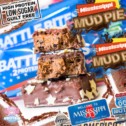 Chocolate Lover? Battle Snacks' latest is 'UnMississippable'!! Mississippi Mud Pie Battle Bites are here!