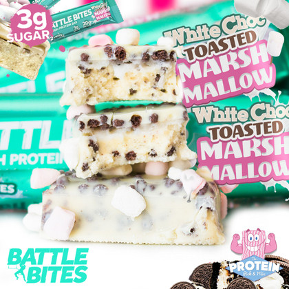 White Chocolate meets Marshmallows with an Oreo crunch? We'll 'toast' to that!