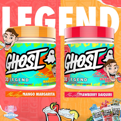 Maxx is in the Mix! GHOST x Maxx Chewning Mango Margarita & Strawberry Daiquiri is served!