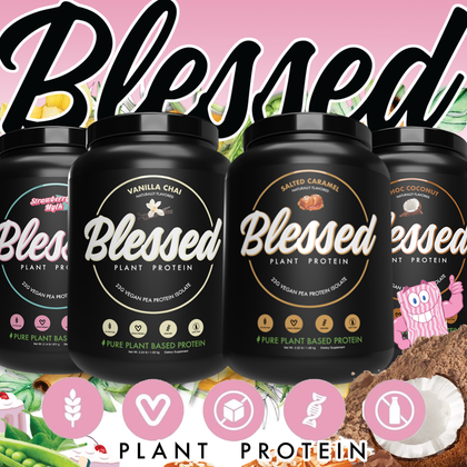 EHP Labs 'Bless' us with their delicious Plant Based Protein!