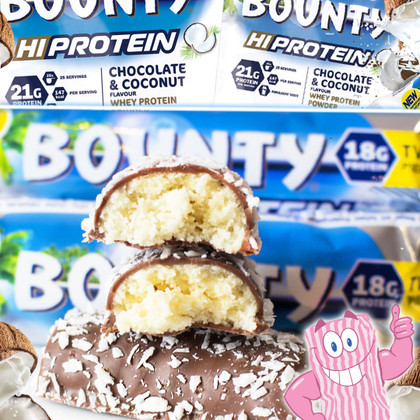 Sealed with a Coconutty kiss... BOUNTY is back!