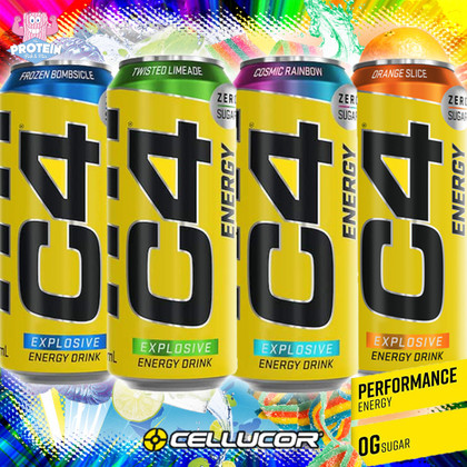 Duck & Cover! Cellucor's EXPLOSIVE Energy has dropped!