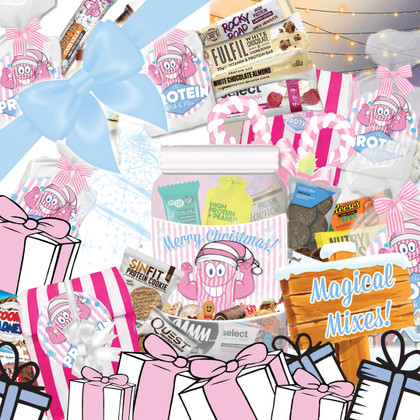 Protein Bar Bundles and Snack Stocking-stuffers...Giftable Goodies in the Mix!