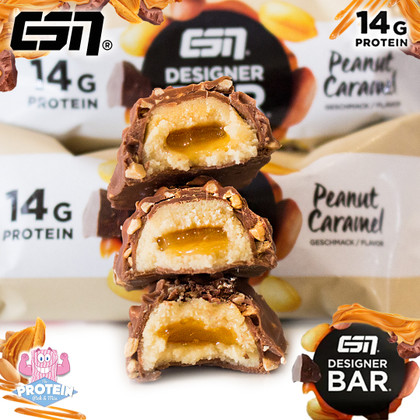 ESN Designer ⁠'Thiiiicker than a Snicker', Peanut Caramel Bar hits the Mix!