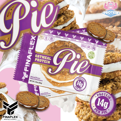 (Oatmeal Cookie) Pie in the Face?! Whoopee! Yes, please...provided it's made by FinaFlex, that is!