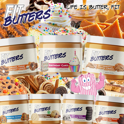 Go NUTS, Fit Butters has arrived...and they've bought ALL the inclusions!