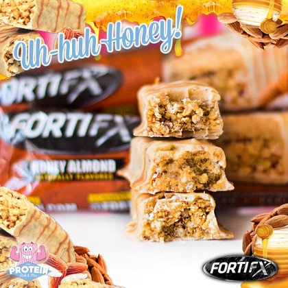 Sweets for my sweet, sugar for my honey... FortiFX Honey Almond finally arrives!