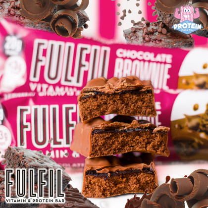 #BrowniesWithBenefits? Brownie meets rich, fudge truffle in Fulfil's new Chocolate Brownie bar