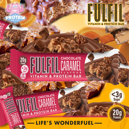 Fulfil 'Crack' into a new Choc + Caramel flavour just in time for Easter!