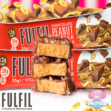 FULFIL-ing your Choc PB fantasies... Fulfil's latest 'Bar with Benefits' hits the Mix!