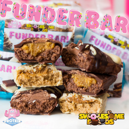 The wait is over! Swolesome FUNDERBARS are here!