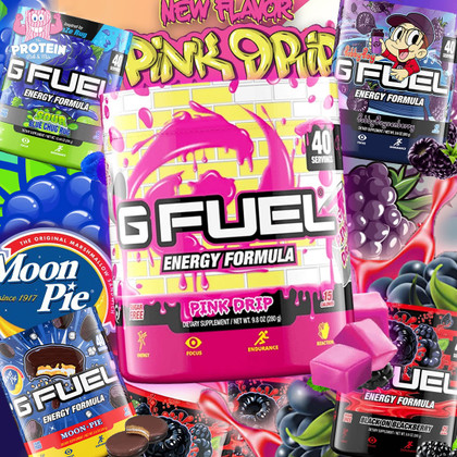GFuel's newest 'Drips' & Drops!