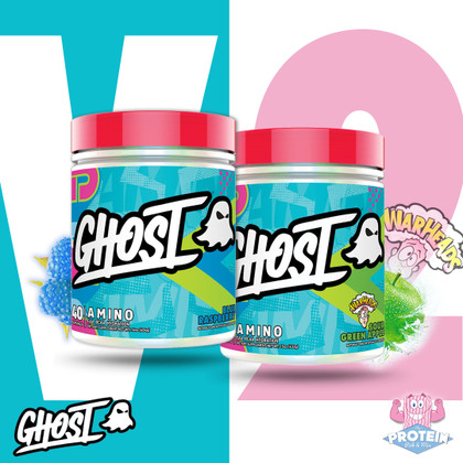 New formula, new flavours and now vegan-friendly...it's time to #BeSeen with GHOST Amino V2!