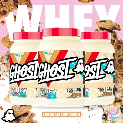 Cookies AHOY, Legends! Choc Chip Cookie GHOST Whey fresh baked & in the Mix!