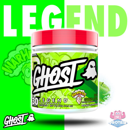 GHOST's latest, luscious LEGEND flavour - Warheads® Sour Green Apple - hits the Mix!