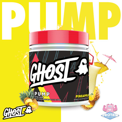 Pump, P-Pump, P-P-Pump it Up with smooth, summery Pineapple GHOST Pump!
