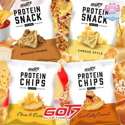 GOT7 have GOT 4...new flavours! Crisps 'N Dips are BACK on the menu!