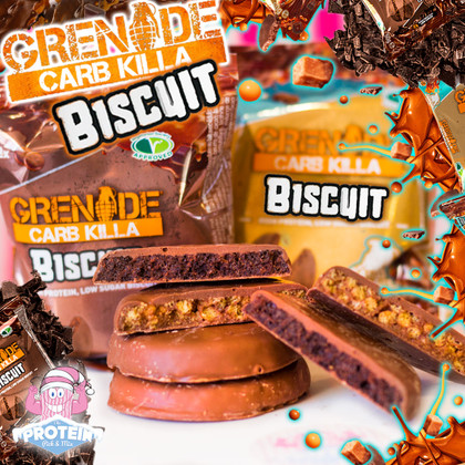 Is it a Wagon Wheel? Is it a Cookie? Nope...it's Grenade Carb Killa BISCUITS!