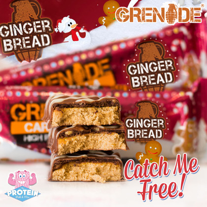 Who's ready for a 'Killa' Christmas this year?! Get a FREE Gingerbread Carb Killa now!