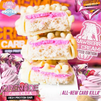 I scream, you scream, we all scream for (Grenade's) Strawberry Ice Cream!!
