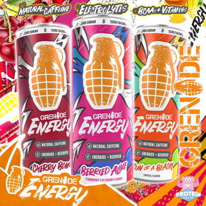 Here comes the...BOOM! Grenade Energy is BACK!