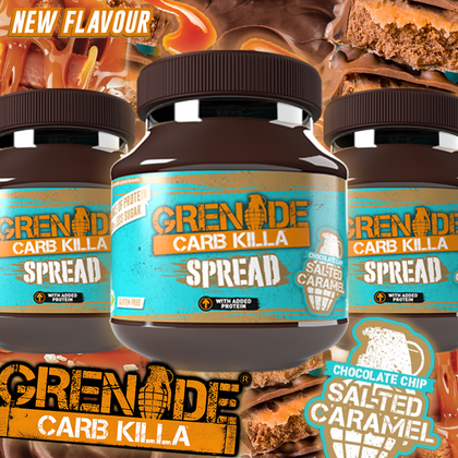 The BEST just got better! Grenade Salted Caramel SPREAD is here!