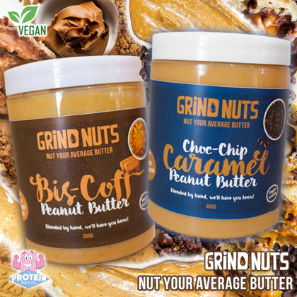 Finding the day-to-day a bit of a grind? Grab some GRIND NUTS instead!