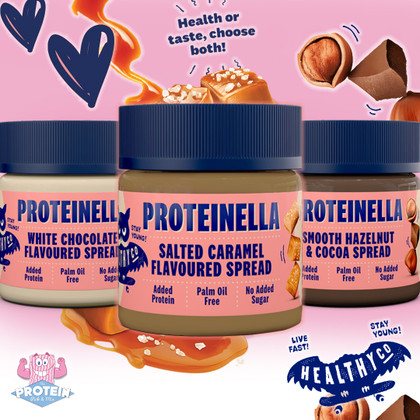 Low Sugar, high Protein Salted Caramel seeeriously spoon-able spread has arrived!