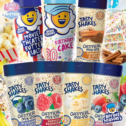 Shake it, baby! The Kernel's back with NEW flavours!