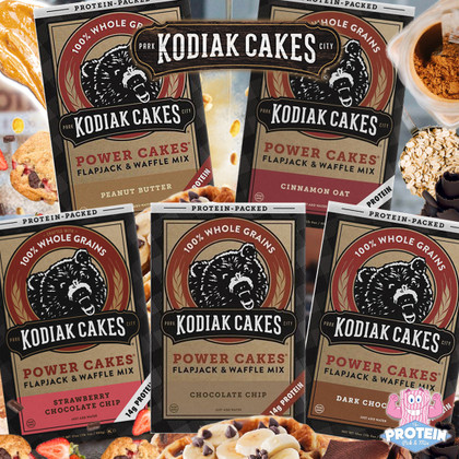 Breakfast... the final (protein) frontier!! Kodiak Cakes are back in the Mix for 2020!