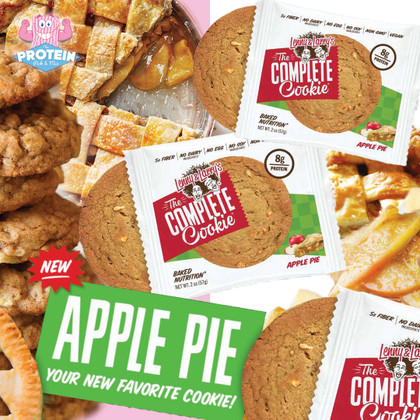 Cookie-Pie?! Lenny & Larry's Apple Pie Cookie joins the range!