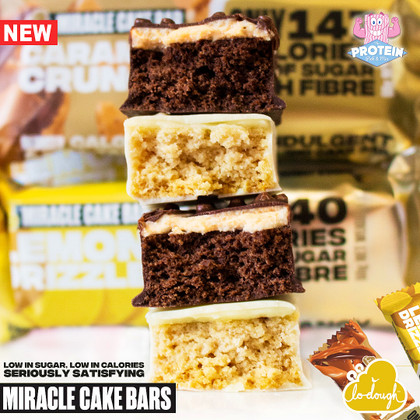 Cakes we CAN eat... it's a MIRACLE (Cake Bar)!