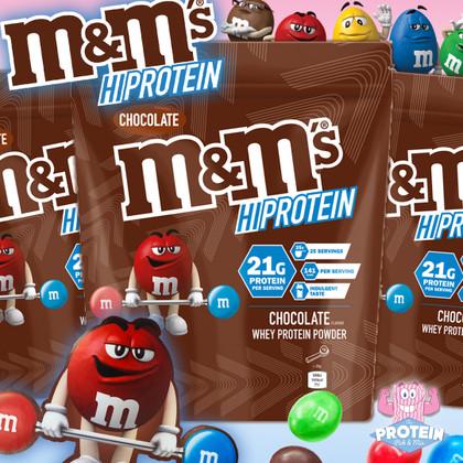 M&Mmnnn... pass my shaker! Mars drop M&M's Hi-Protein Powder!